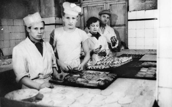 Cukiernia ul. Pruska 1958