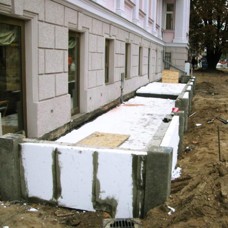 Muszelka cukiernia rozbudowa słupsk ul. Wojska Polskiego 2