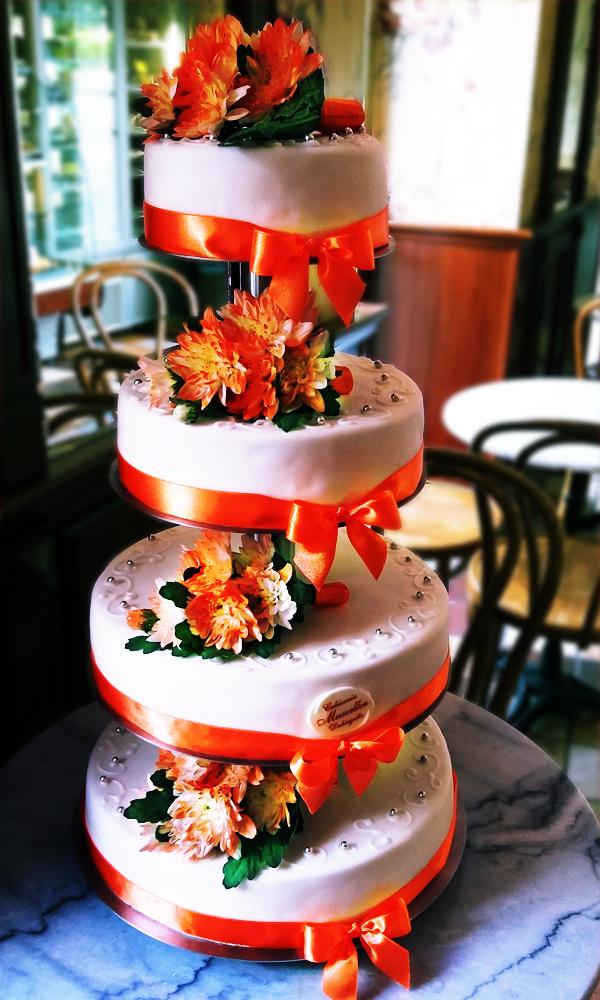 tort ślubny 4