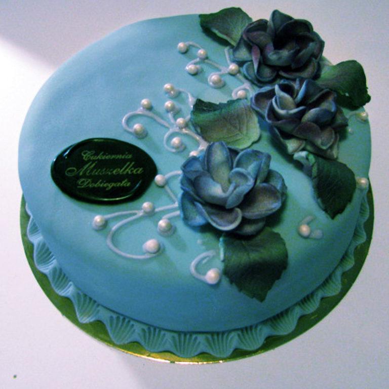 Tort okolicznościowy kwiat