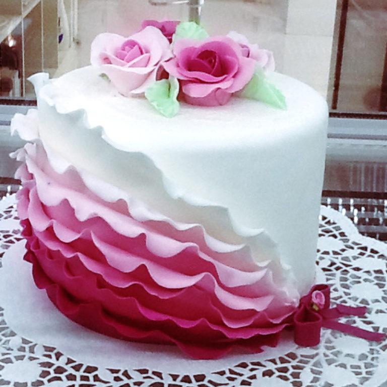 Tort okolicznościowy róża